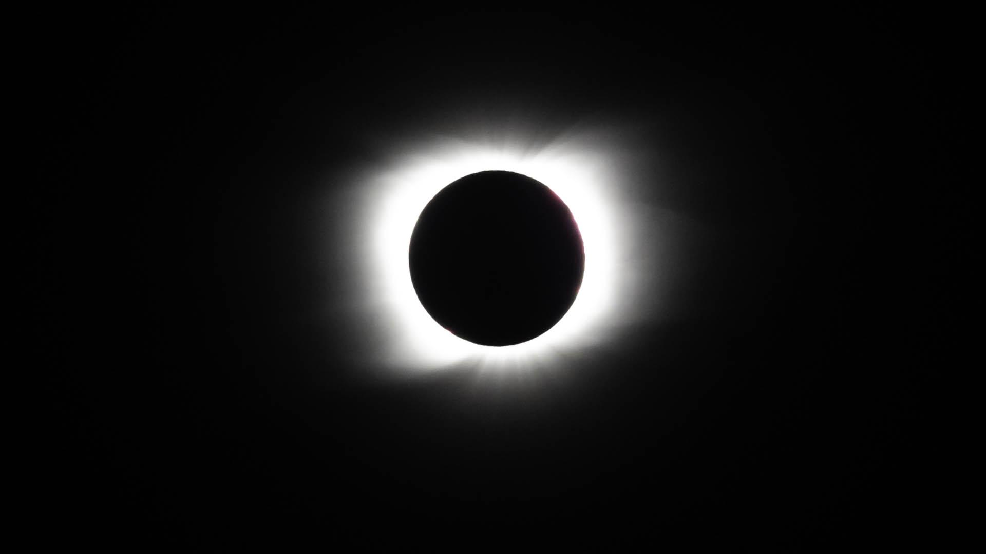 Astrofotografía eclipse solar