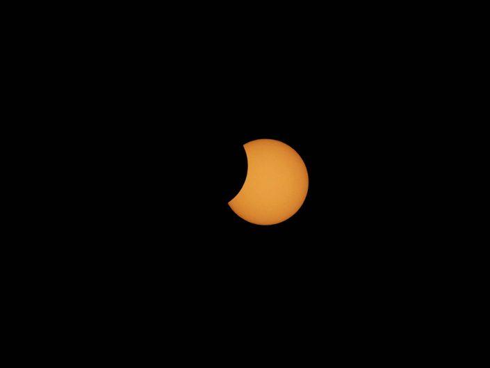 eclipse solar astro fotografia